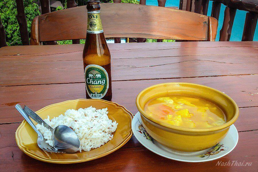 Простой обед по-тайски