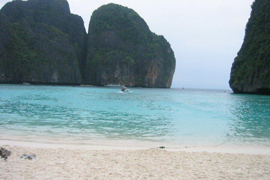 Белые пески острова