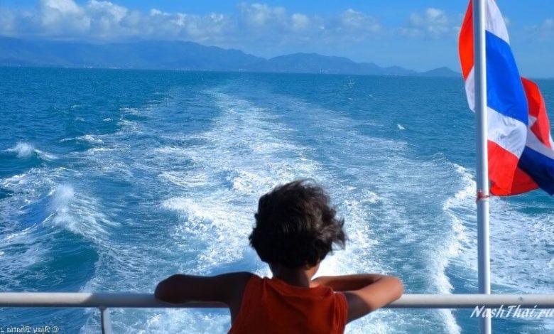 Таец в лодке