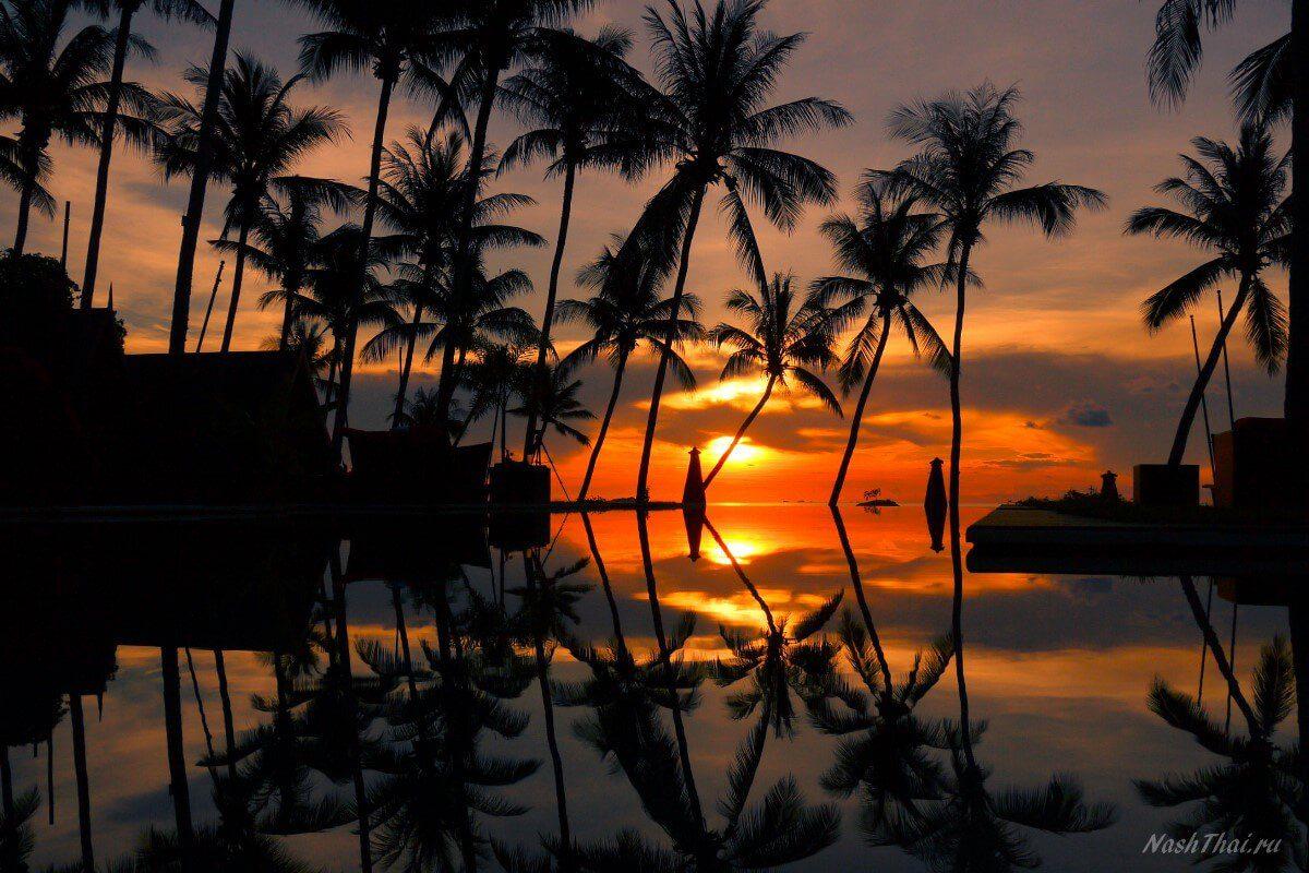 Закат на Самуй