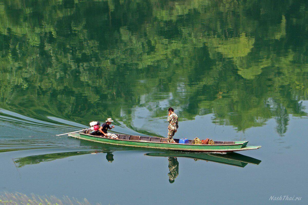 Рыбаки в Тае