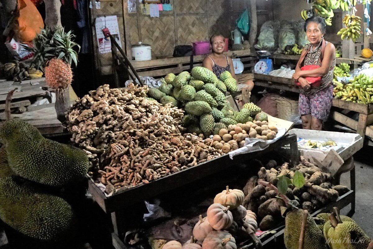 Фруктовый рынок в Таиланде