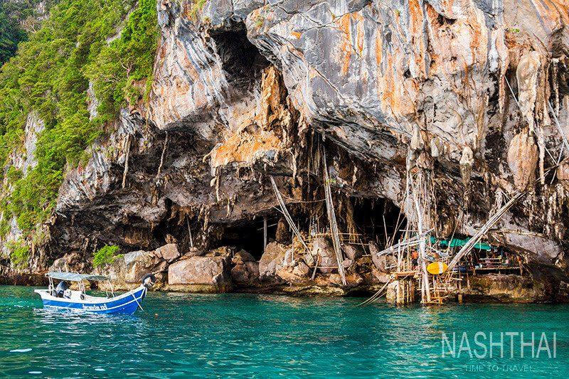 Пещера Викингов остров Пхи-Пхи-Лей