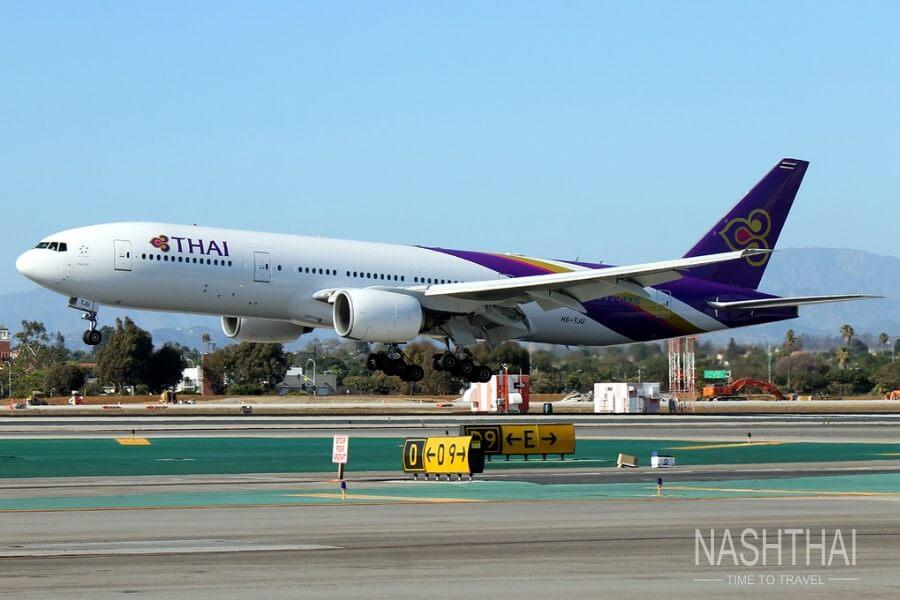 Самолёт взлетает